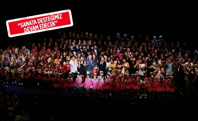 Folkart Academy'den 300 kişilik dev gösteri!