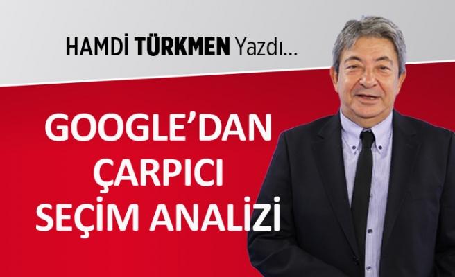"""""""Google'dan çarpıcı seçim analizi"""""""