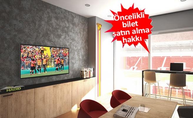 Göztepe'de loca satışları başlıyor