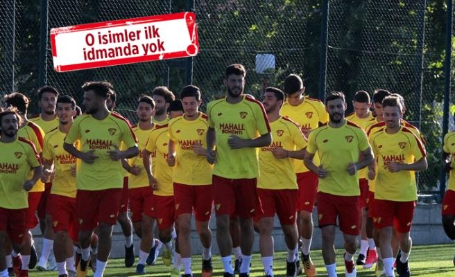 Göztepe'de sezonun ilk antrenmanı!