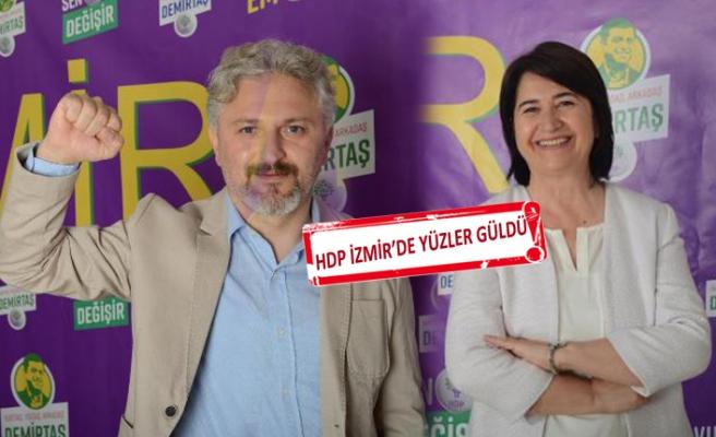 HDP, İzmir'den 2 vekil çıkarmayı başardı