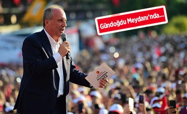 İnce'nin İzmir mitinginin saati netleşti!