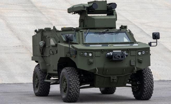 İşte Paris'te tanıtılan Türkiye'nin yeni tank avcısı