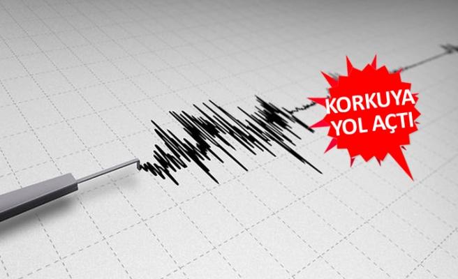 İzmir açıklarında deprem! O ilçenin 15 km açığında!