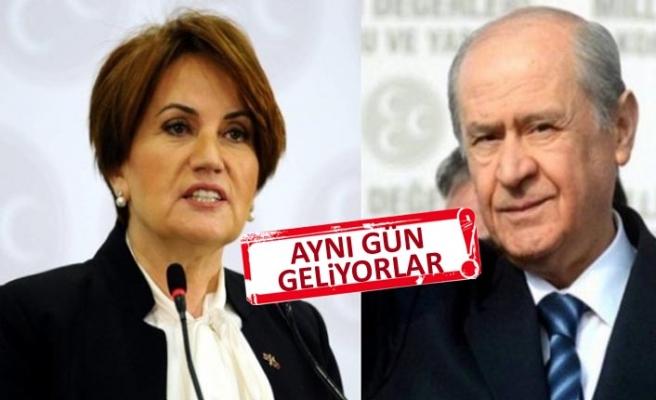 İzmir, Bahçeli ve Akşener'i ağırlayacak!