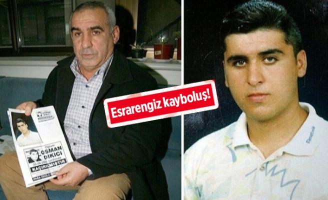 İzmir'de 16 yıllık kayıp dosyası yeniden açıldı