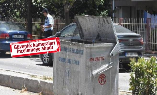 İzmir'de çöpe bakan telefona sarıldı!
