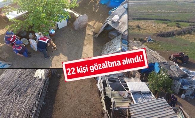 İzmir'de film gibi operasyon!
