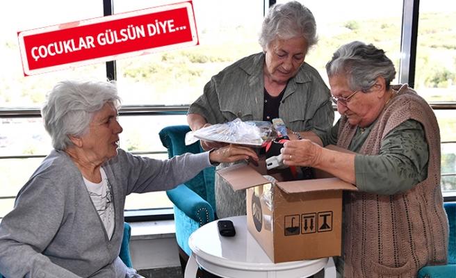 İzmir'den Güneydoğu'ya 'Sevgi kolileri'