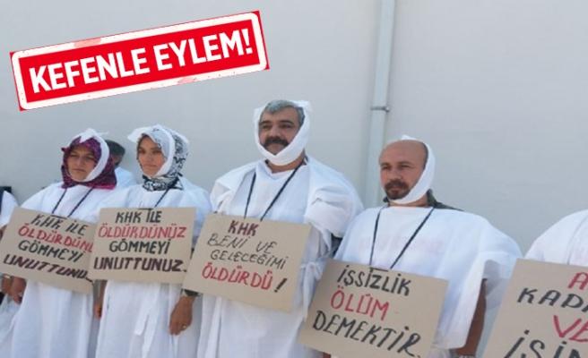 İzmir'de işçilerden dilekçe: Bizi gömün!