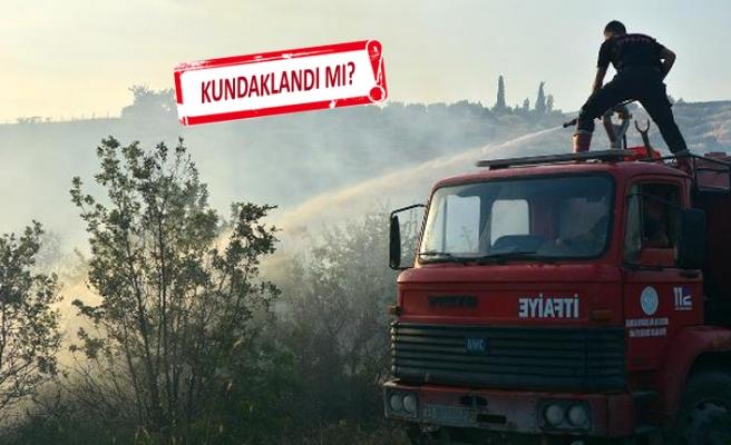 Kemalpaşa'da yangın! 3 hektarlık alan zarar gördü