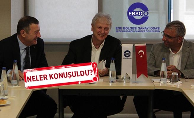 MHP İzmir'den EBSO'ya ziyaret!