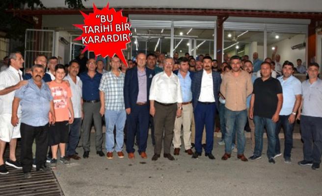 Necip Nasır: Bakan Özhaseki İzmir'e müjdesini verdi