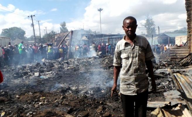 Pazaryerinde yangın: 15 ölü, 58 yaralı!