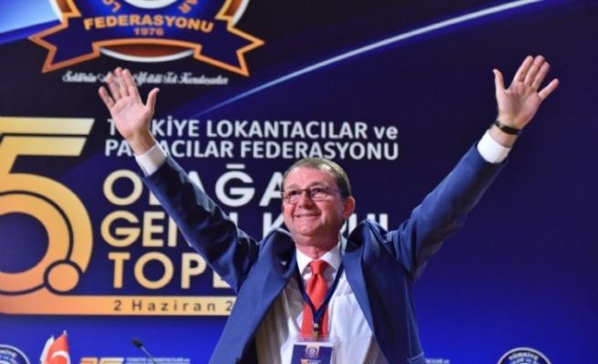 Türkiye Lokantacılar ve Pastacılar Federasyonu Başkanı yeniden Yenice