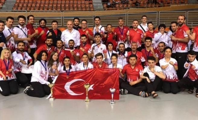 Türkiye, Para-Taekwondo'da Avrupa Şampiyonu oldu