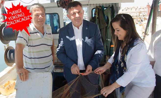 Ulupınar:Balıkçılık sektörünü unutmadık