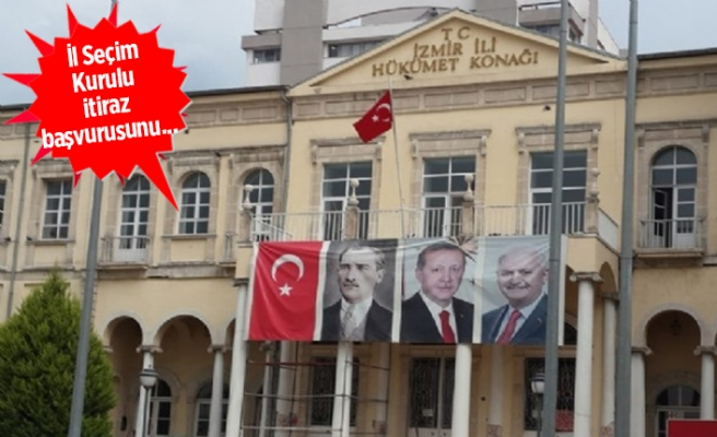 Valilik için 'poster' kararı: Kaldırıldı