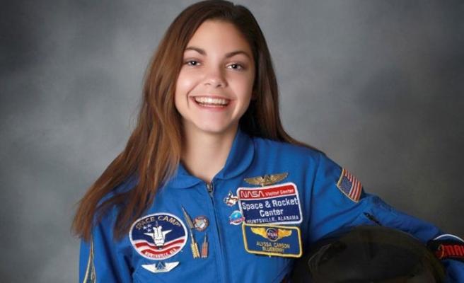 17 yaşında Mars'a gitmek için hazırlanıyor
