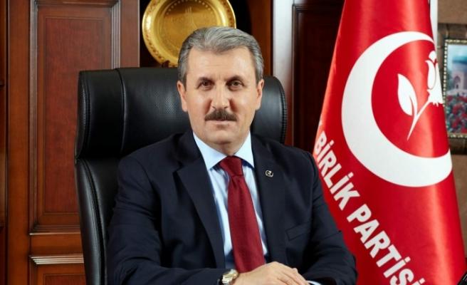 BBP Genel Başkanı Destici'den yerel seçime tarih önerisi