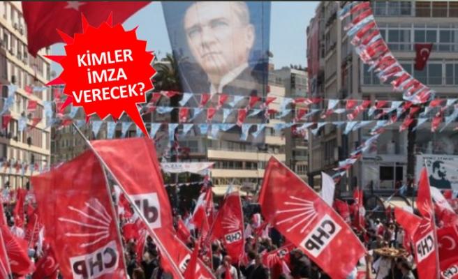CHP İzmir'de imza hareketliliği başlıyor