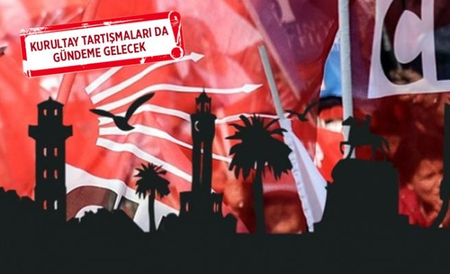 CHP İzmir'de 'seçim' zirvesi!
