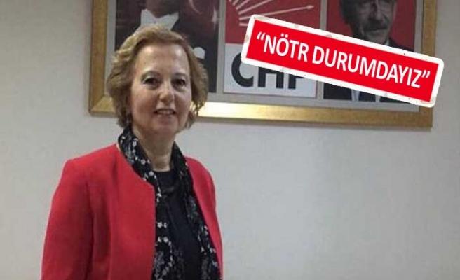"""CHP Kadın Kolları Başkanı konuştu: """"Kimseyi ayrıştırmak gibi bir durumumuz yok"""""""