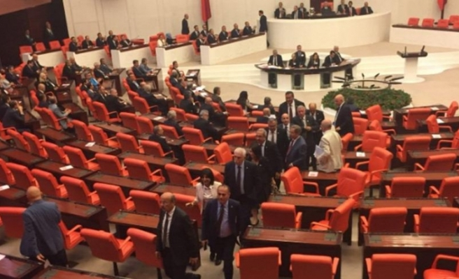 CHP'liler Soylu'yu protesto etti