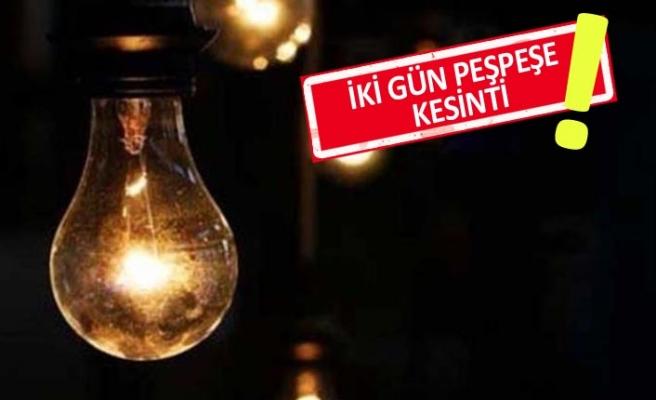 Dikkat: İzmir'in o ilçesinde 'elektrik kesintisi' olacak!