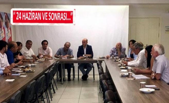 İYİ Parti'de İzmir zirvesi