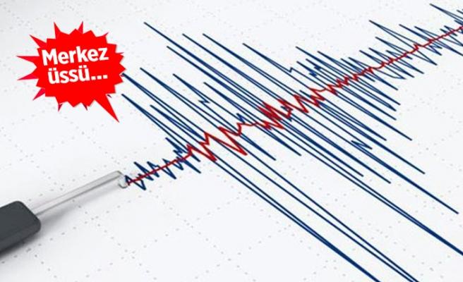 İzmir'de deprem!