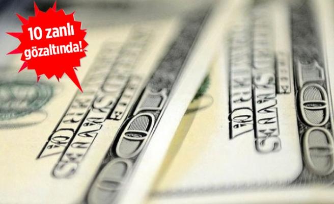 İzmir'deki operasyonda ıslak imzalı 1 ABD doları bulundu!