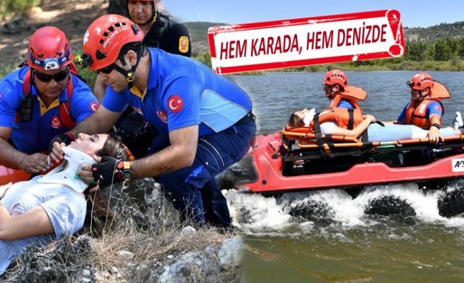 İzmir İtfaiyesi, arama ve kurtarmada sınıf atladı