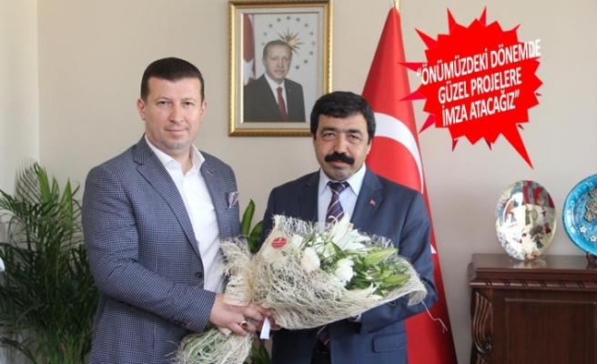 MÜSİAD İzmir'den, Rektör Saffet Köse'ye ziyaret
