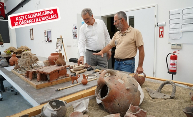Rektör Budak'tan İzmir'in ilk yerleşim alanına ziyaret