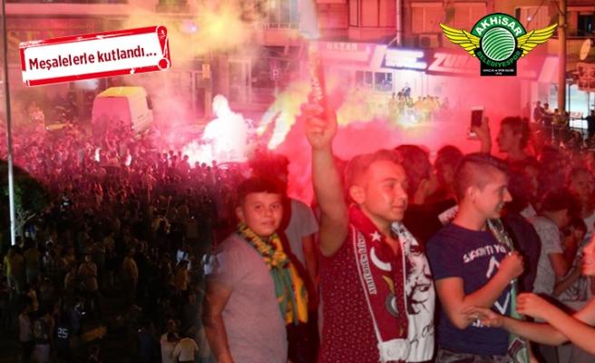 Akhisar'da 'Süper Kupa' coşkusu