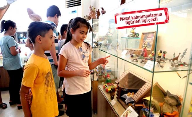 Bayraklılı çocukların 'müze' mutluluğu