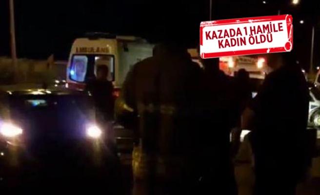 Çiğli'de korkunç kaza! Kazada 1 hamile kadın öldü