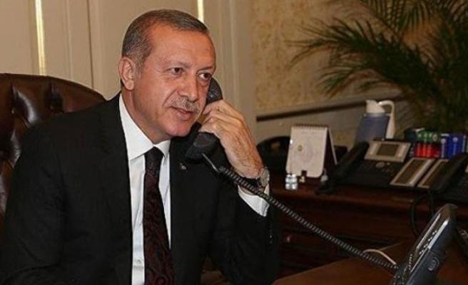 Cumhurbaşkanı Erdoğan, Kuveyt Emiri El Sabah ile telefonda görüştü
