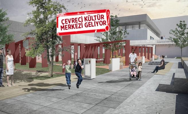 """İzmir'e """"en çevreci"""" kültür merkezi geliyor"""