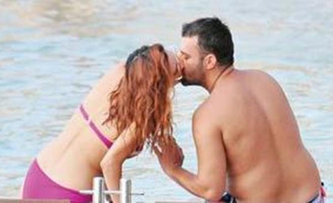 Salih Bademci-İmer Özgün aşk tatilinde