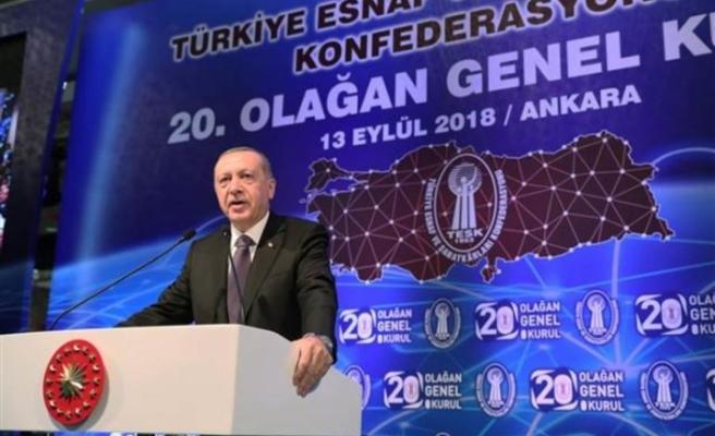 Cumhurbaşkanı Erdoğan'dan ekonomiye dair çok sert mesajlar!