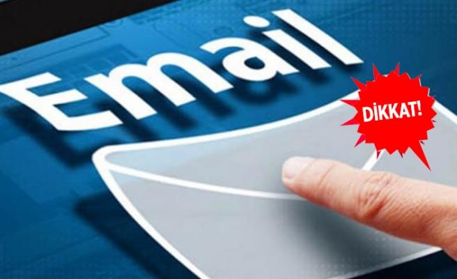 E-posta ile gelen büyük tuzak