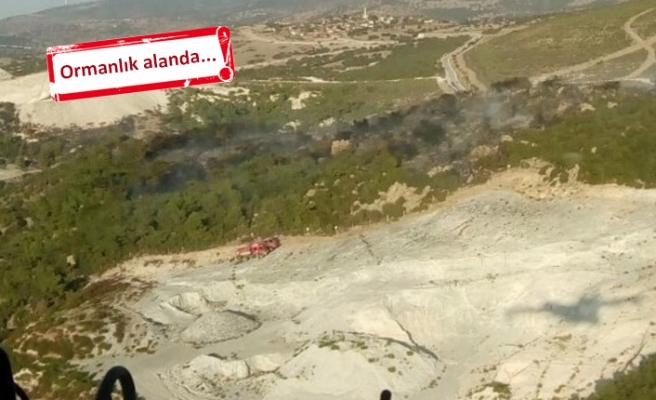 Aliağa'da korkutan yangın!