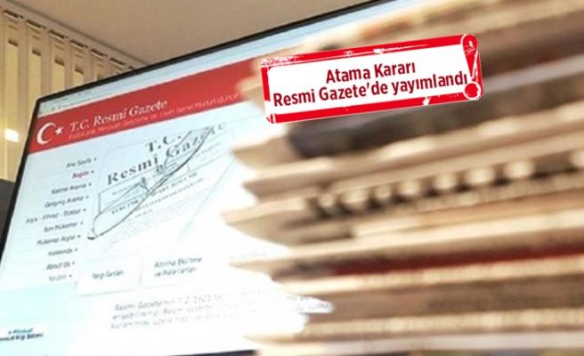 İzmir'e 8 yeni kaymakam atandı