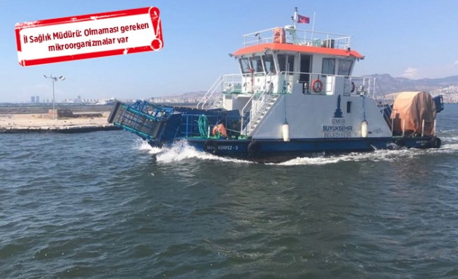 Korkutan açıklama: İzmir denizine temas eden hasta olur!