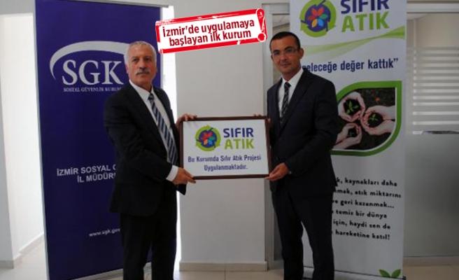 SGK İzmir 'Sıfır Atık Projesi'nin ilk adımını attı