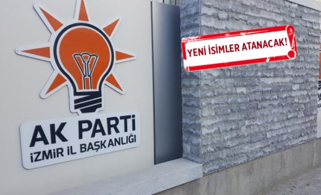 AK Parti İzmir, 2 ilçede revizyona gidiyor!