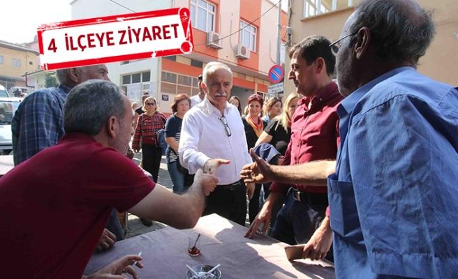 Başkan Karabağ, 'adaylık' turunda
