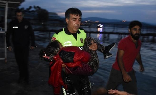 Bodrum'da mülteci teknesi battı! Ölü ve yaralılar var